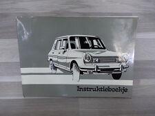 Instructieboekje voor Chrysler Europe - nederlandstalig
