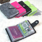 Retro Women Pouch ID Credit Card Wallet Cash Holder Organizer Case Box Pocket tg
