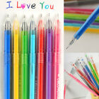 Colorful 0.5mm Rollerball Gel Pens Fine Point 12-Pack Assorted Colors