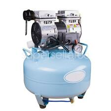 USA Dental UNIT silent Noiseless Oil fume Oilless Air Compressor 30L 130L/min