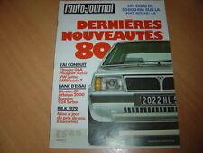 AJ N°16 1979 CX Athena.Porsche 924 Turbo.Ritmo 65 CL