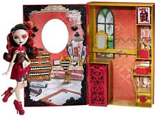 Ever After High Lizzie Hearts Spring Unsprung Book Playset | Mattel CDM54