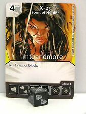 Marvel Dice Masters - 2x #061 X-23 Scent of Murder - The Uncanny X-Men