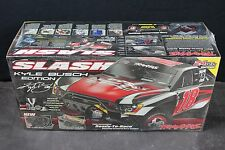 TRAXXAS 5803 SLASH BRUSHED 2WD KYLE BUSCH w/BATTERY&CHARGER 799