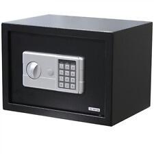 "Black Large 14"" Digital Electronic Safe Box Keypad Lock Security Home Office"