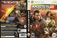 Mass Effect 2 Microsoft Xbox 360 COMPLETE WHITE LABEL BioWare MassEffect TWO II