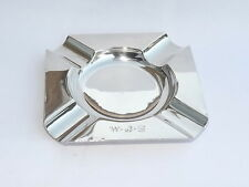 GOOD VINTAGE 1940s MAPPIN & WEBB SOLID SILVER STERLING ASH TRAY DISH LONDON 1944