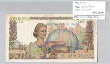 BILLET 10000 FRANCS GENIE FRANCAIS - 4-5-1951***