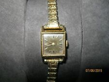 10kt gold filled 1960s womens omega watch