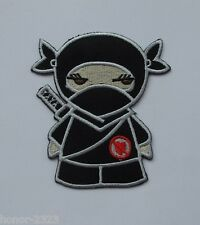 PRETTY NINJA FEMALE EMBROIDERED IRON ON PATCH BIKER MOTOCYCLE T-SHIRT FREESHIP