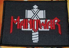 MANOWAR 'HAMMER' vintage woven sew on patch