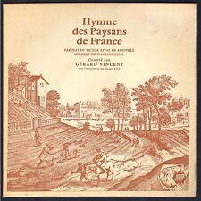 HYMNE DES PAYSANS DE France RARE 45T EP BIEM Petit Label JBP GERARD VINCENT