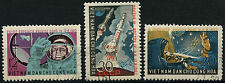 North Vietnam 1962 SG#N242-4 Team Manned Space Flights Used Set #D35469