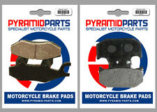 Suzuki TS 200 R 90-94 Front & Rear Brake Pads Full Set (2 Pairs)