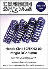 CARBON CULTURE HONDA CIVIC 92-00 50MM LOWERING SPRINGS