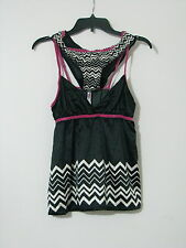 Missoni Baby Doll Set L NEW WITH TAGS Pink Rose Cami Thong Chevron Target
