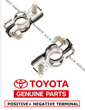 Genuine Toyota Negative & Positive Battery Terminal Assembly LEXUS