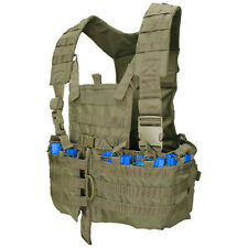 CONDOR MOLLE Modular Nylon Chest Set Vest Rig cs - OLIVE DRAB OD GREEN