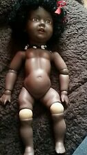 "JDK 237 ""Hilda"" antique reproduction Collector's  Kestner German black skin"
