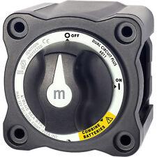 Blue Sea 6011200 m-Series Battery Switch Dual Circuit Plus - Black