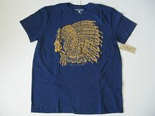 DENIM & SUPPLY RALPH LAUREN Men's Royal Indian Headdress T-Shirt S