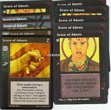 Scorn of Adonis x10 KoT CE VTES Jyhad