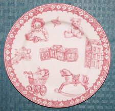 "Queen's China A Gift For A Girl 7 3/4"" Girl Child's Plate - Excellent Condition"