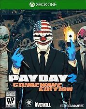NEW Payday 2: Crimewave (Microsoft Xbox One, 2015) - Brand New Factory Sealed