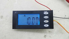 AC Digital LED power meter monitor Voltage 100A Ammeter KWh time watt energy +CT
