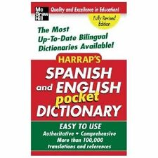 Harrap's Spanish and English Pocket Dictionary (Harrap's Dictionaries), Harrap's