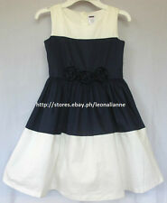 68% OFF! AUTH GYMBOREE COLORBLOCK ROSETTE DRESS SIZE 5 / 4-6 YRS BNEW $28.99