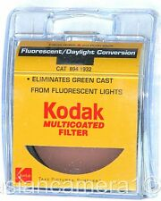 52mm FL-D Fluorescent Lens Filter Multicoated MC FL-Day Kodak Camera Color Conve