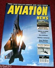 Aviation News 2006 January Gloster Javelin,C160 Transall,Washington Reagan