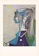 """1955 Vintage """"SYLVETTE XIII"""" PABLO PICASSO FABULOUS Color Art Plate Lithograph"""