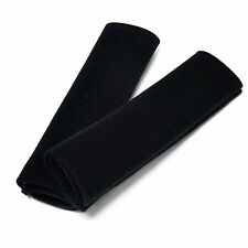 2 Black Comfy Car Van Seat Belt Pads Seatbelt Covers New van Sports F1 Racing