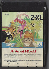 MEGO 2XL TALKING ROBOT 8 TRACK TAPE ANIMAL WORLD RARE NO BUTTON CARD TESTED WORK