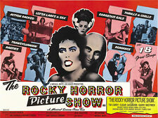 the Rocky horror picture show cult movie poster print