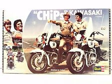 Chips TV Series Kawakasi 1/12 Scale Molded in Color 1980 Model Kit 7800