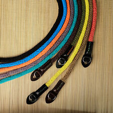 Blue Woven Cotton Rope Camera Strap with ring connection by Cam-in (95cm)