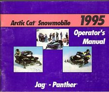 1995 ARCTIC CAT SNOWMOBILE JAG & PANTHER OPERATOR'S MANUAL P/N 2255-085  (414)