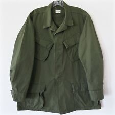 VINTAGE 1969 US ARMY VIETNAM JUNGLE JACKET COMBAT TROPICAL MEDIUM REG RIP STOP
