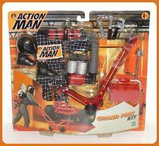 * HASBRO ACTION MAN 1999 * F1 GRAND PRIX PIT LANE Kit di servizio * (Magazzino di Vecchio Negozio)