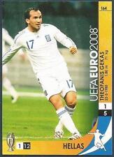PANINI UEFA EURO 2008 TRADING CARD- #164-HELLAS-GREECE-THEOFANIS GEKAS