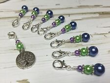 Removable Clip Tree Of Life Stitch Markers - For Knit Or Crochet