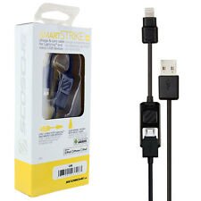Genuine Scosche SmartSTRIKE 2 in 1 Charge & Sync Cable for Lightning & Micro USB