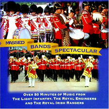 MILITARY BANDS SPECTACULAR NEW CD LIGHT INFANTRY / ROYAL ENGINEERS / ROYAL IRISH