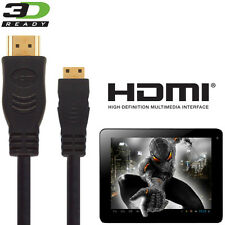 Flytouch Superpad 2, 3, 7 Tablet PC HDMI Mini to HDMI TV 2.5m Wire Lead Cable