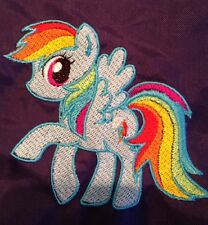 Personalisiert My Little Pony Rainbow Dash Schule/PE/Gym Kordelzugbeutel