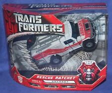 Transformers Movie Voyager Class Autobot Rescue Ratchet New Factory Sealed 2007