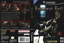 Resident Evil  (Nintendo GameCube, 2002) Complete Very Good Condition!